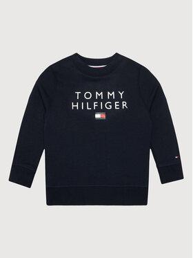 Tommy Hilfiger Tommy Hilfiger Bluză Flag KB0KB06744 M Bleumarin Regular Fit