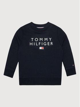 Tommy Hilfiger Tommy Hilfiger Bluza Flag KB0KB06744 M Granatowy Regular Fit
