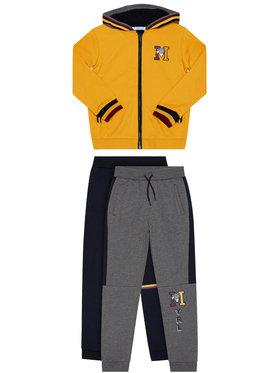 Mayoral Mayoral Комплект анцуг 2 чифта панталони и фанела 4814 Цветен Regular Fit