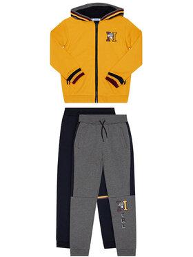 Mayoral Mayoral Komplet 2 par spodni dresowych i bluza 4814 Kolorowy Regular Fit