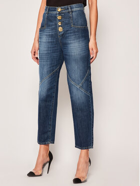 Pinko Pinko Mom Fit Jeans Margie PE 20 PRR 1N12SQ Y6KE Dunkelblau Mom Fit