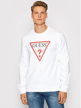 Guess Guess Majica dugih rukava M1RQ37 K6ZS1 Bijela Slim Fit