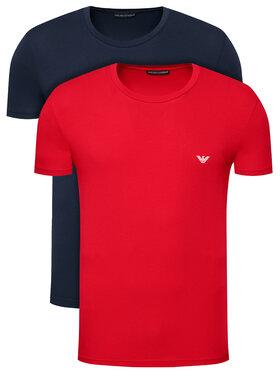 Emporio Armani Underwear Emporio Armani Underwear 2-dílná sada T-shirts 111267 1P720 34374 Barevná Regular Fit