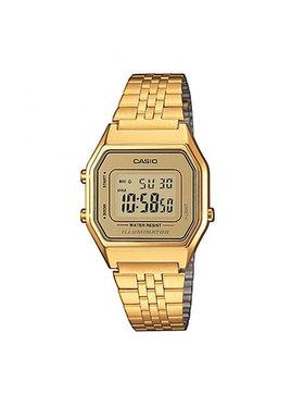 Casio Casio Zegarek Vintage LA680WEGA-9ER Złoty