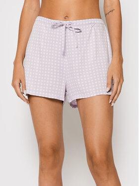 Calvin Klein Underwear Calvin Klein Underwear Szorty piżamowe 000QS6029E Fioletowy