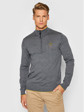 Aeronautica Militare Aeronautica Militare Sweater 212MA1343L415 Szürke Regular Fit