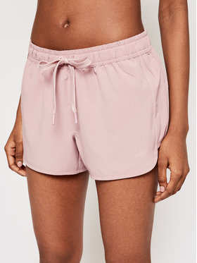 4F 4F Pantaloni scurți de plajă H4L21-SKDT001 Roz Regular Fit