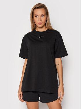Nike Nike T-Shirt Sportswear Essential DH4255 Czarny Oversize