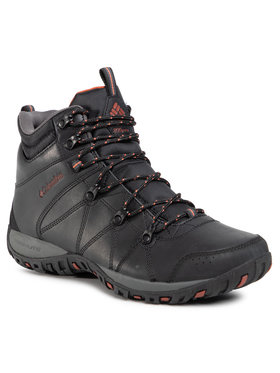 Columbia Columbia Παπούτσια πεζοπορίας Dunwood Mid 1795501010 Μαύρο
