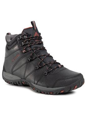 Columbia Columbia Trekingová obuv Dunwood Mid 1795501010 Černá