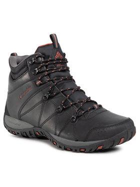 Columbia Columbia Trekingová obuv Dunwood Mid 1795501010 Čierna
