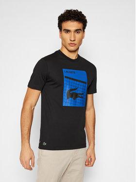 Lacoste Lacoste T-shirt TH9654 Noir Regular Fit