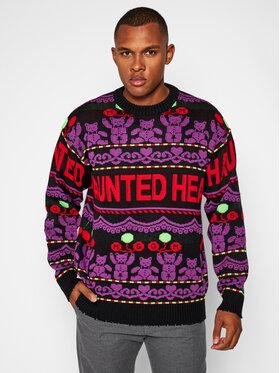 MSGM MSGM Sweter 2940MM132 207569 Kolorowy Regular Fit