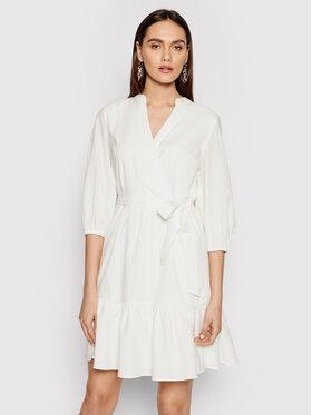 DKNY DKNY Každodenní šaty DD1BD345 Bílá Regular Fit