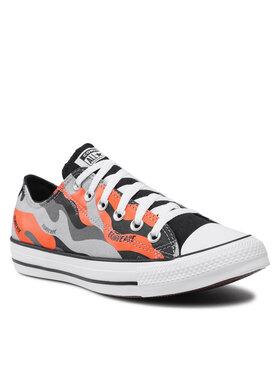 Converse Converse Sneakers aus Stoff Ctas Ox Ash Stone 171455C Grau