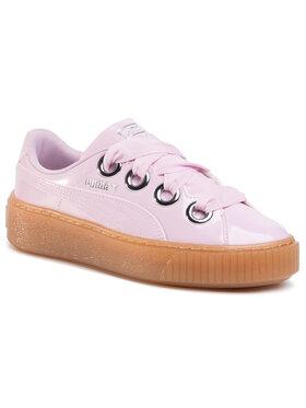 Puma Puma Sneakers Basket Platform Kiss Anodized Jr 366822 03 Rosa
