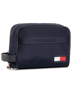Tommy Hilfiger Tommy Hilfiger Несесер Tommy Washbag AM0AM06530 Тъмносин