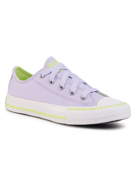 Converse Converse Sneakers aus Stoff Ctas Ox 667791C Violett
