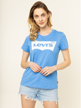 Levi's Levi's T-Shirt The Perfect Graphic Tee 17369-0793 Μπλε Regular Fit