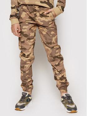 Guess Guess Jogger kelnės L1RB02 WDLH0 Ruda Regular Fit