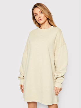 Reebok Reebok Úpletové šaty Classics Natural Dye GN4594 Béžová Oversize