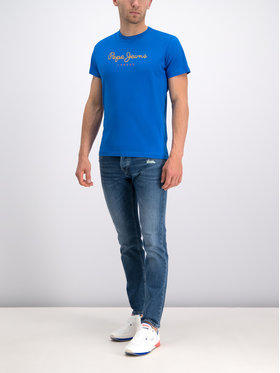 Pepe Jeans Pepe Jeans Jeansy PM200029GR72 Modrá Regular Fit