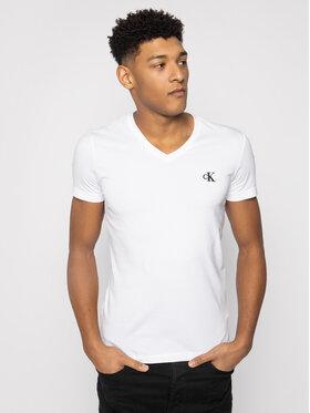 Calvin Klein Jeans Calvin Klein Jeans T-Shirt J30J314998 Bílá Slim Fit