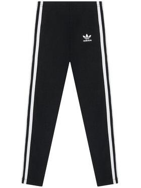 adidas adidas Colanți 3-Stripes ED7820 Negru Regular Fit