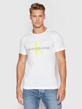 Calvin Klein Jeans Calvin Klein Jeans T-Shirt J30J317065 Biały Slim Fit