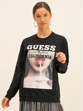 Guess Guess Džemperis M01Q43 K9EG0 Juoda Regular Fit