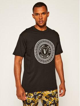 Versace Jeans Couture Versace Jeans Couture T-Shirt B3GZA7TJ Czarny Regular Fit