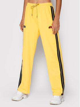 Ellesse Ellesse Spodnie dresowe Ater SGK12166 Żółty Regular Fit