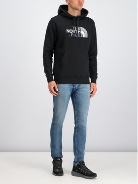 The North Face The North Face Bluză Drew Peak NF00AHJYKX7 Negru Regular Fit