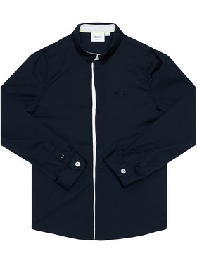 Boss Boss Marškiniai J25G53 S Juoda Slim Fit