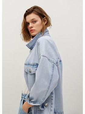 Mango Mango Kurtka jeansowa Seul 87075637 Niebieski Relaxed Fit