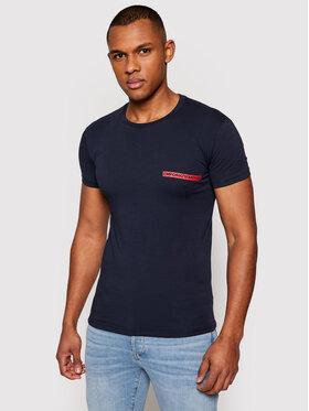 Emporio Armani Underwear Emporio Armani Underwear T-Shirt 111035 1P729 00135 Granatowy Slim Fit