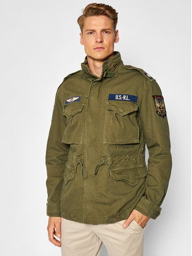 Polo Ralph Lauren Polo Ralph Lauren Átmeneti kabát 710833803001 Zöld Regular Fit