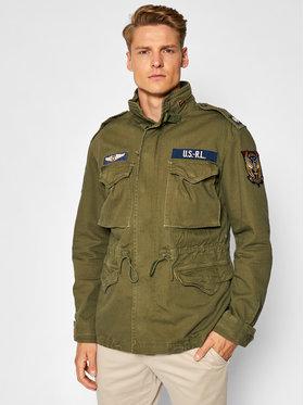 Polo Ralph Lauren Polo Ralph Lauren Prijelazna jakna 710833803001 Zelena Regular Fit