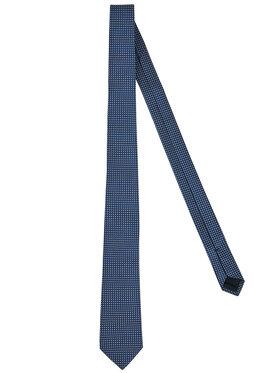 Tommy Hilfiger Tailored Tommy Hilfiger Tailored Krawatte Blend Micro Desing TT0TT07329 Dunkelblau