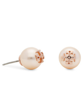 Tory Burch Tory Burch Ohrringe Logo Stud Earring 11165504 Goldfarben