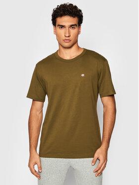 Champion Champion T-Shirt 216545 Zielony Regular Fit