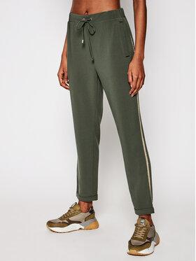 Liu Jo Sport Liu Jo Sport Pantalon en tissu TA1002 T8423 Vert Regular Fit
