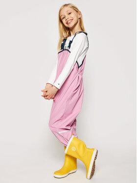 Playshoes Playshoes Spodnie materiałowe 405424 D Różowy Regular Fit