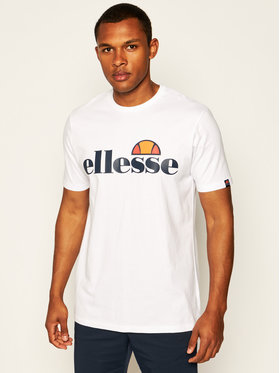Ellesse Ellesse T-Shirt Sl Prado Tee SHC07405 Biały Regular Fit