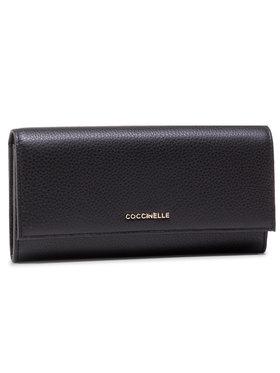 Coccinelle Coccinelle Nagy női pénztárca HW5 Metallic Soft E2 HW5 11 03 01 Fekete