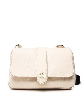 Calvin Klein Jeans Calvin Klein Jeans Handtasche Flap Crossbody K60K608268 Beige