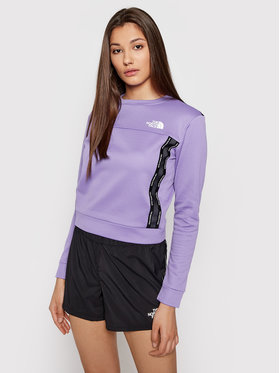 The North Face The North Face Bluză Mountain Athletics NF0A5564WQ71 Violet Regular Fit