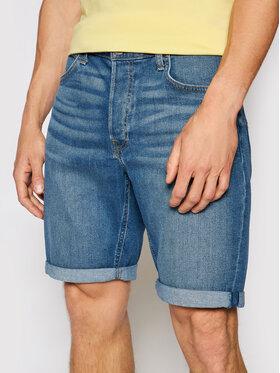 Lee Lee Pantaloncini di jeans 5 Pocket L73EMGTP Blu Regular Fit