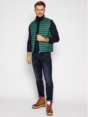 TOMMY HILFIGER TOMMY HILFIGER Γιλέκο Packable Down Vest MW0MW14607 Πράσινο Regular Fit