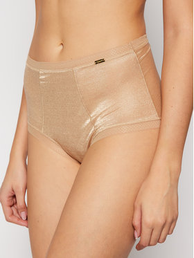 Gossard Gossard Klasické nohavičky s vysokým pásom Glossies 6272 Béžová